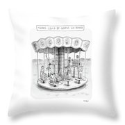 New Yorker October 9th, 2006 Throw Pillow