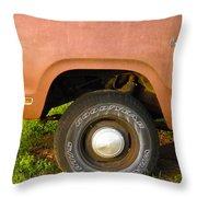 78 Dodge Power Wagon  Throw Pillow