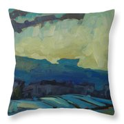 7am Snowsquall Throw Pillow