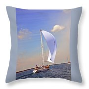 Fast Tago Throw Pillow