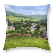 Abbotsbury Throw Pillow by Joana Kruse