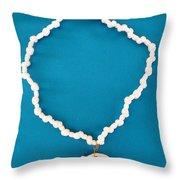 Aphrodite Anadyomene  Necklace Throw Pillow