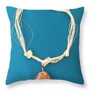 Aphrodite Urania Necklace Throw Pillow