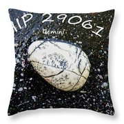 Barack Obama Star Throw Pillow