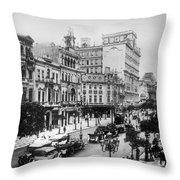 Brazil Rio De Janeiro Throw Pillow