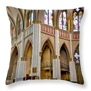 Cathedral Of St. Helena Throw Pillow