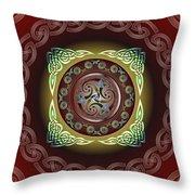 Celtic Pattern Throw Pillow