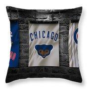 Chicago Cubs Throw Pillow