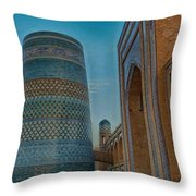Chiva- Uzbekistan Throw Pillow
