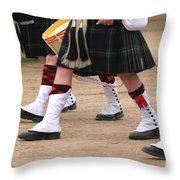 English Uniforms Throw Pillow