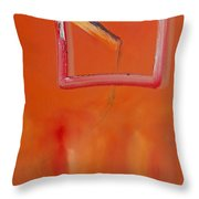 Figures In A Souq Throw Pillow
