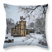 Fonthill Castle Throw Pillow