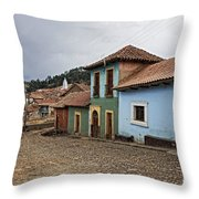 forgotten village Totora Throw Pillow