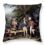 Francis Marion (1732?-1795) Throw Pillow