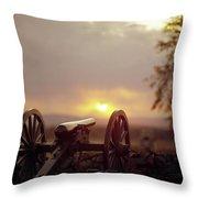 Gettysburg Military Park Throw Pillow
