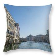 Gran Canal Throw Pillow