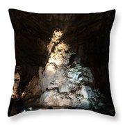 Grutas De Cacahuamilpa Throw Pillow
