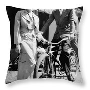 Howard Hughes (1905-1976) Throw Pillow