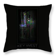 Key West Florida - Blue Heaven Rendezvous Throw Pillow