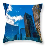 Las Vegas Nevada Usa Throw Pillow