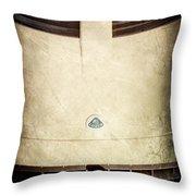 Lotus Hood Emblem Throw Pillow