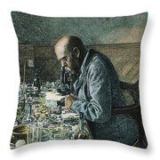 Robert Koch (1843-1910) Throw Pillow