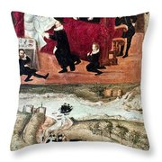 Sir Henry Unton (c1557-1596) Throw Pillow