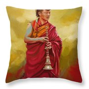 South Asian Art  Throw Pillow