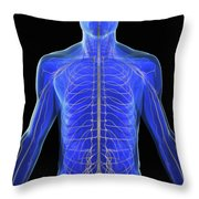 The Nervous System Throw Pillow