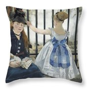 The Railway Throw Pillow