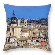 Toledo Spain Throw Pillow