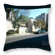 Unity Temple Throw Pillow