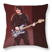 Van Halen - Wolfgang Van Halen Throw Pillow