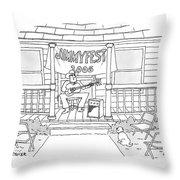 Jimmyfest 2006 Throw Pillow