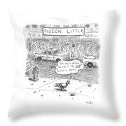 Captionless Throw Pillow