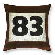 #83 Throw Pillow