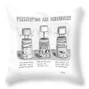Prescription Air Fresheners Throw Pillow