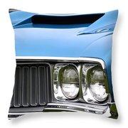 60's Oldsmobile 442 Throw Pillow
