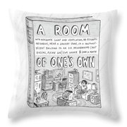 New Yorker March 26th, 2007 Throw Pillow