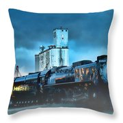 844 Night Train Throw Pillow