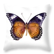 87 Cethosia Cyane Butterfly Throw Pillow by Amy Kirkpatrick