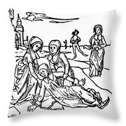 St Throw Pillow