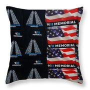 9/11 Memorial For Sale Throw Pillow