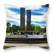 9/11 Memorial Freehold Nj Throw Pillow