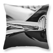 1957 Chevrolet Belair Hood Ornament Throw Pillow