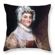 Abigail Adams (1744-1818) Throw Pillow