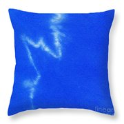 Abstract Batik Pattern Throw Pillow