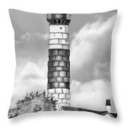 Big Point Sable Throw Pillow