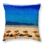 Elia Beach Throw Pillow