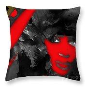 Empires Naomi Campbell Camilla Throw Pillow